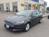 Gray 2015 Ford Fusion SE FWD 6-Speed Automatic 2.5L
