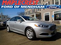 *2015 CERTIFIED PRE OWNED FUSION*CARFAX One-Owner.
