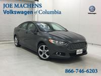 CARFAX One-Owner. Gray 2015 Ford Fusion SE FWD 6-Speed