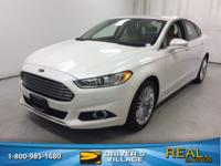 Oxford White 2015 Ford Fusion SE FWD 6-Speed Automatic