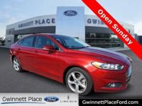 CARFAX One-Owner. Certified. Red 2015 Ford Fusion SE