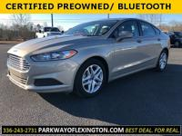 CARFAX One-Owner. Certified. Tectonic 2015 Ford Fusion