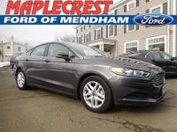 *2015 CERTIFIED FORD FUSION SE*CARFAX One-Owner. Clean