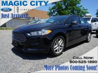 Treat yourself to this 2015 Ford Fusion SE, which