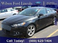 FORD Certified 2015 Black Ford Fusion SE!! Recent