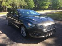CARFAX One-Owner. Magnetic 2015 Ford Fusion SE FWD