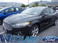 This amazing 2015 Ford Fusion is just the right choice