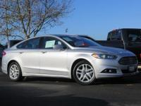 Boasts 36 Highway MPG and 24 City MPG! This Ford Fusion