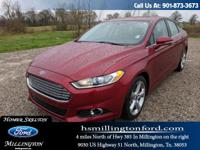 CARFAX One-Owner. Ruby Red Tinted Clearcoat 2015 Ford