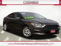 New Price! CARFAX One-Owner. Magnetic 2015 Ford Fusion