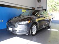 Grey 2015 Ford Fusion SE FWD 6-Speed Automatic EcoBoost