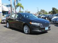 2015 Ford Fusion SE in Tuxedo Black and FORD CERTIFIED.