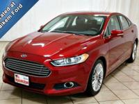 This 2015 Ford Fusion is a beautiful vehicle with