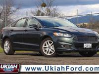 2015 Ford Fusion SE. 6-Speed Automatic. Turbocharged!
