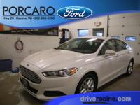 Options:  2015 Ford Fusion Se|Oxford White|Charcoal