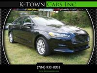 Options:  2015 Ford Fusion Se Sedan 4D|Black|No