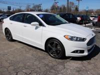 2015 Ford Fusion SE White Platinum Metallic Tri-Coat