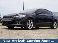 2015 Ford Fusion SE in Tuxedo Black, This Fusion comes