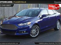 This 2015 Ford Fusion 4dr 4dr Sedan SE FWD features a