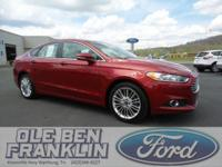 Options:  2015 Ford Fusion Se|Red/|V4 2.0 L