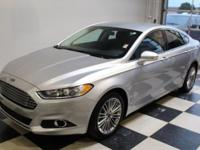 Snag a steal on this 2015 Ford Fusion SE before someone