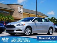 2015 Ford Fusion in Silver. 6-Speed Automatic.