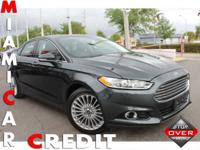 2015 Ford Fusion Titanium 2.0L l-4 turbo Engine 6-Speed