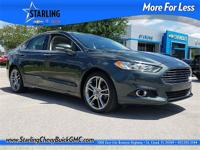2015 Ford Fusion Titanium ONE OWNER, CLEAN CARFAX,