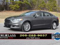 We Finance - loaded 1-Owner 2015 Ford Fusion Titanium