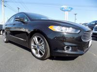 FORD FUSION TITANIUM EDITION. Bates Ford is happy to