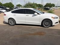 CARFAX One-Owner. 2015 Ford Fusion Titanium AWD 6-Speed