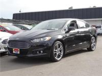 Options:  2015 Ford Fusion Titanium Front-Wheel Drive