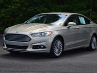 33/22 Highway/City MPG Beige 2015 Ford Fusion Titanium