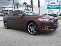 CARFAX One-Owner. Certified. Bronze Fire Metallic