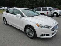 Outstanding design defines the 2015 Ford Fusion! An
