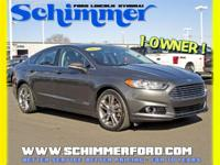 Used 2015 Ford Fusion Titanium FWD Sunroof Nav in stock