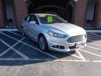 Score a deal on this 2015 Ford Fusion Titanium while we