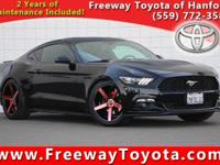 CARFAX One-Owner. Clean CARFAX. Black 2015 Ford Mustang