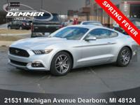 New Price! 2015 Ford Mustang CARFAX One-Owner. Clean