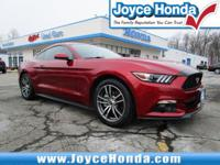 Recent Arrival! 2015 Ford Mustang EcoBoost Odometer is