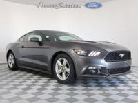 CARFAX One-Owner. Magnetic Metallic 2015 Ford Mustang
