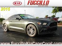 This 2015 Ford Mustang 2dr Fastback EcoBoost is offered