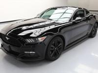 2015 Ford Mustang with 2.3L Turbocharged I4 DI EcoBoost