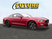 Come see this 2015 Ford Mustang I4. Its Automatic
