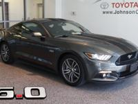 New Price! 2015 Gray Ford Mustang CLEAN CARFAX**,