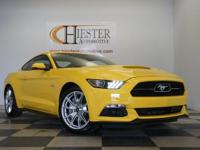 Options:  2015 Ford Mustang Gt|Yellow|Priced Below Kbb
