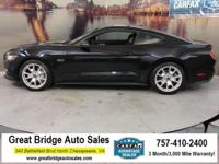 2015 Ford Mustang ABS brakes, Alloy wheels, Compass,