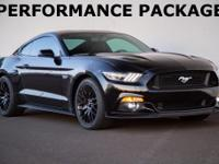2015 Fprd Mustang GT Premium Oprtions Include 6-Speed