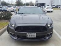 We are excited to offer this 2015 Ford Mustang. Only