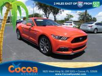 This 2015 Ford Mustang GT in Orange features: Clean